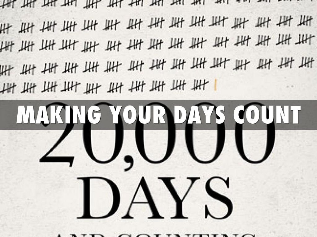 20,000 DAYS COUNT