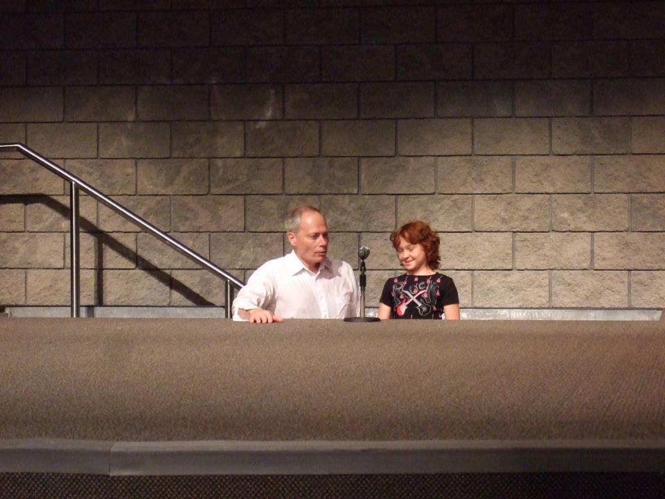 Bob baptizing Kesara Kimo