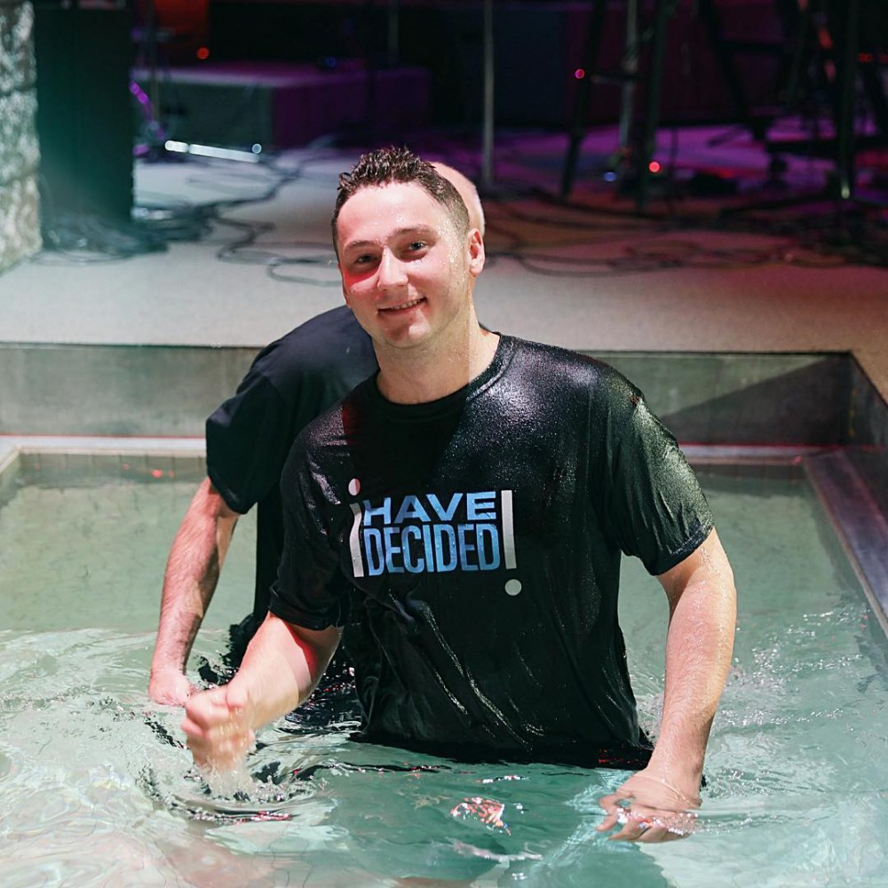 WHAT'S WITH WATER BAPTISM?