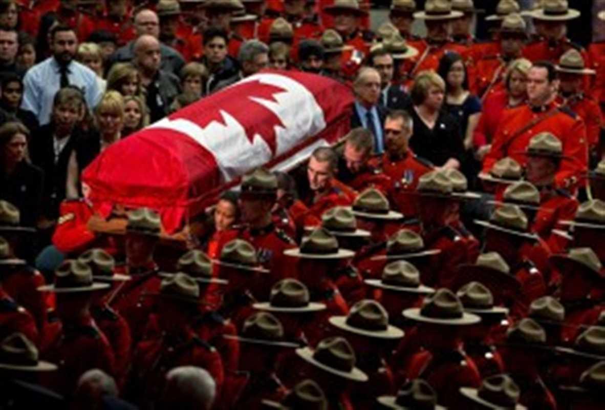 RCMP David Wynn funeral