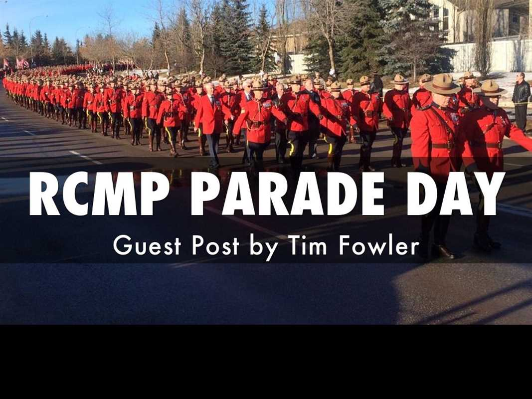 RCMP Parade day