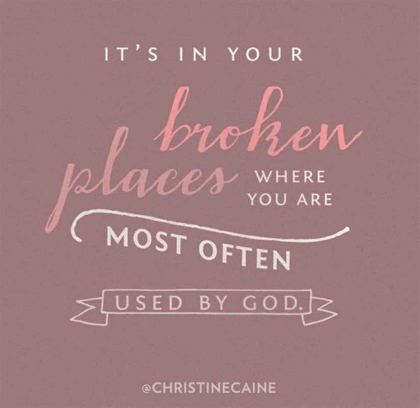 Christine caine broken