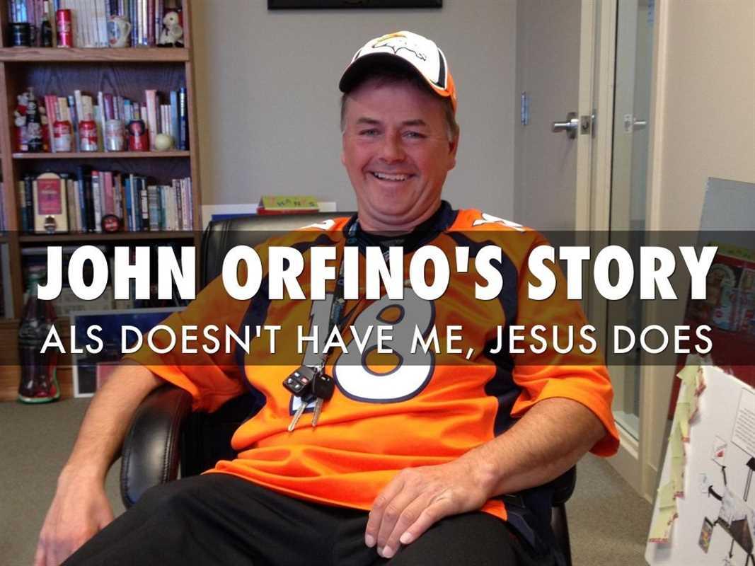 JOHN ORFINO'S STORY
