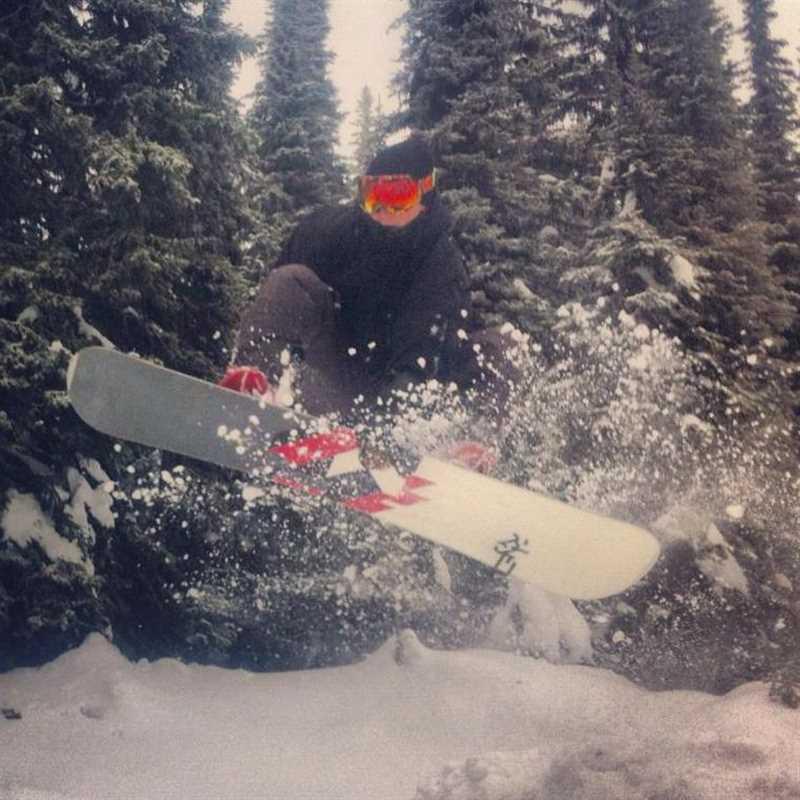 Trevor Caverly boarding