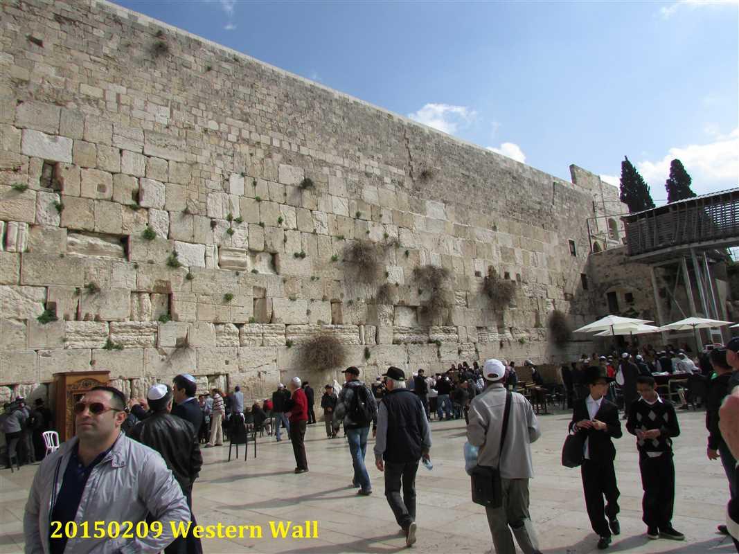 20150209 Western Wall