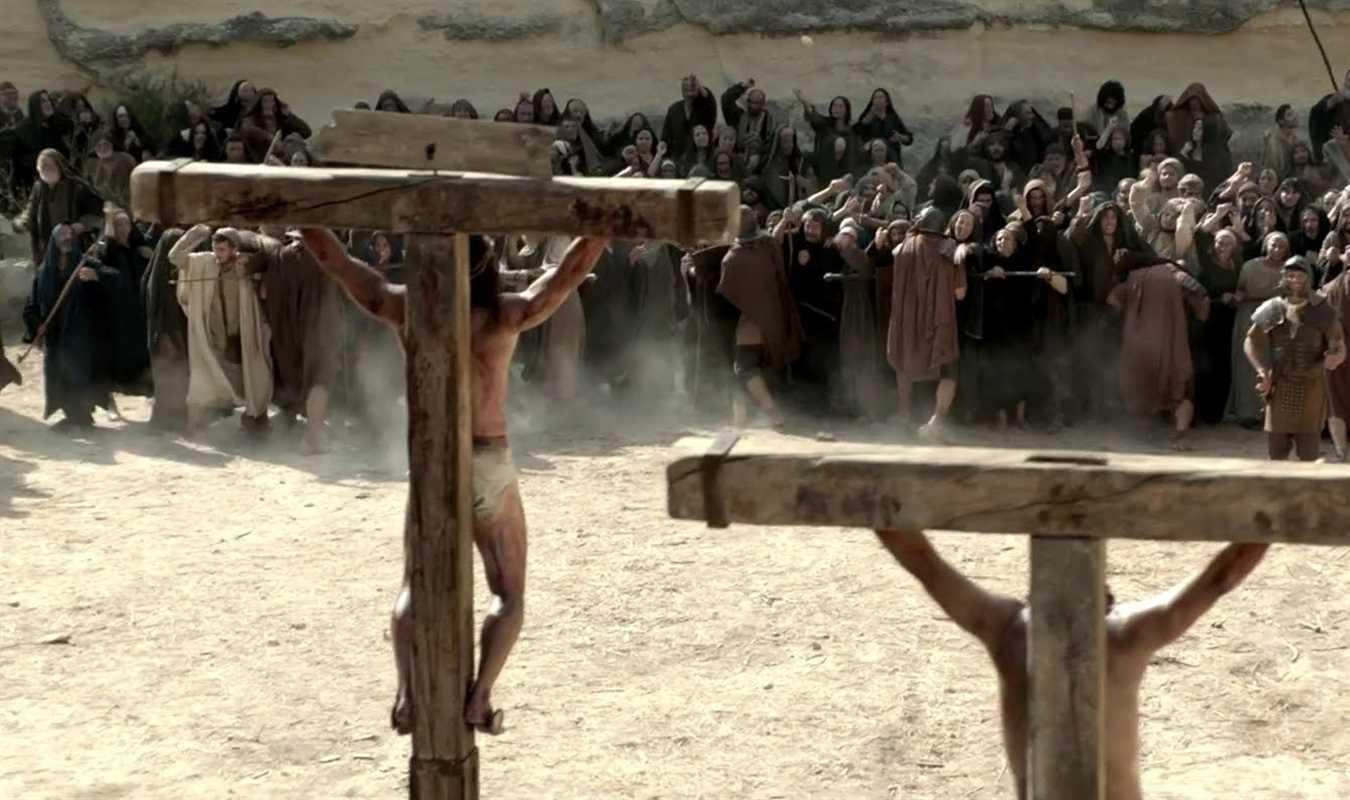 Risen crosses