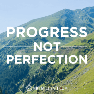 progress-not-perfetion