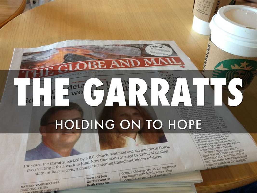 GARRATTS HOLDING ONTO HOPE