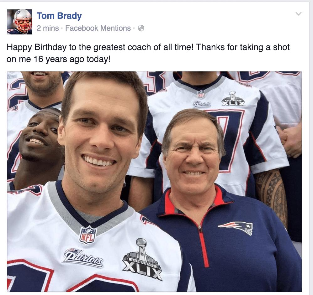 Bill Belichick Brady