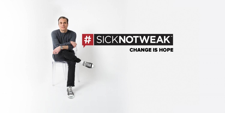 SICK NOT WEAK: MICHAEL LANDSBERG