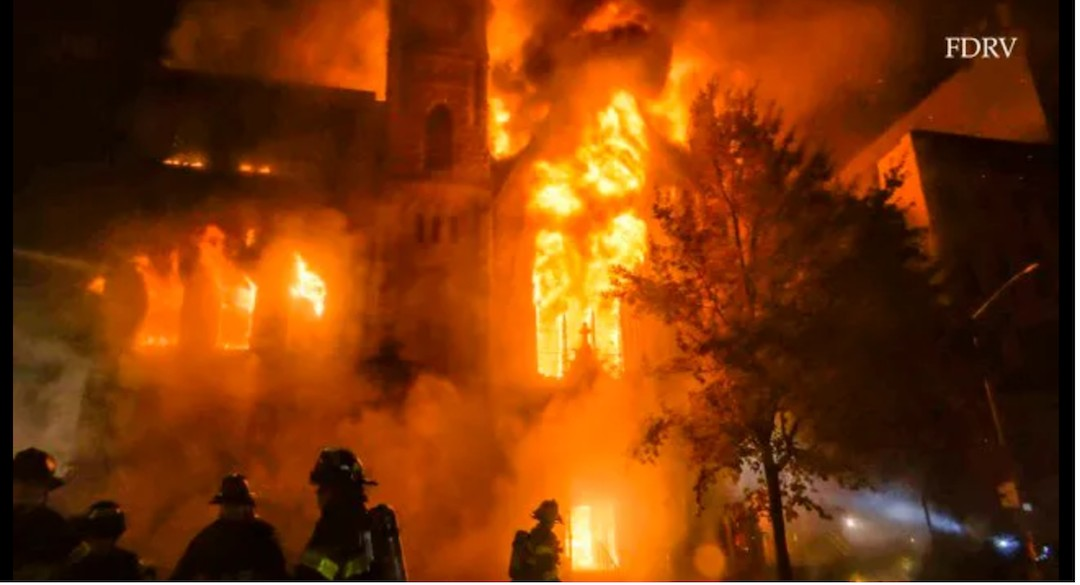 MIDDLE CHURCH: FIRE CANNOT STOP REVOLUTIONARY LOVE